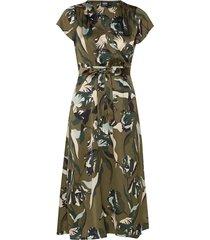 boozt gloria dress knälång klänning grön twist & tango