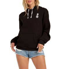 women's billabong mod pineapple graphic hoodie