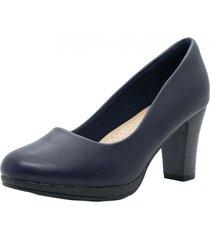 zapato azul marta sixto clásico