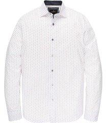 long sleeve shirt print bright white