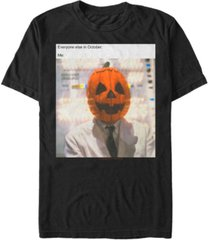 fifth sun halloween 3 me in october men's short sleeve t-shirt