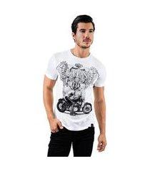 camiseta aes 1975 biker masculina