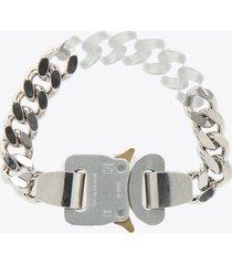 1017 alyx 9sm metal and nylon chain bracelet