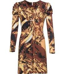 abito a manica lunga (giallo) - bodyflirt boutique