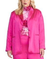 rachel rachel roy trendy plus size everly blazer