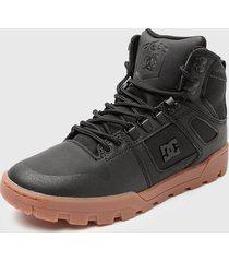 botín pure high-top wr boot negro dc