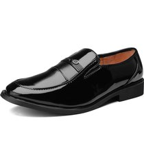 slip on business nero traspirante da uomo