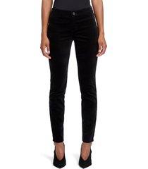 women's nic+zoe stretch velvet pants