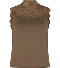 femme9 shirt / top groen jax