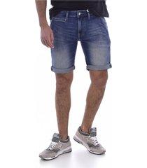 bermuda en jean stretch coton bio