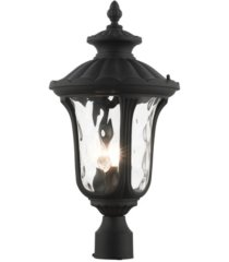 oxford 3 lights outdoor post top lantern