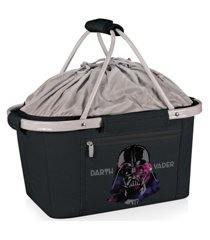oniva by picnic time star wars darth vader metro basket collapsible cooler tote