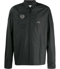 a-cold-wall* nylon compass jacket - black