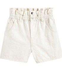 shorts med rynkad linning