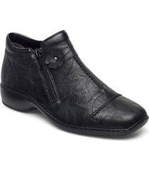 l3888-00 shoes boots ankle boots ankle boot - flat svart rieker