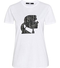 boucle karl profile t-shirt