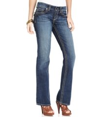 kut from the kloth petite natalie bootcut jeans, a macy's exclusive