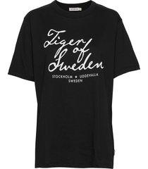 sterna pr t-shirts & tops short-sleeved svart tiger of sweden jeans
