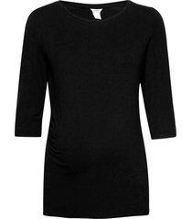 top mom vira t-shirts & tops long-sleeved svart lindex