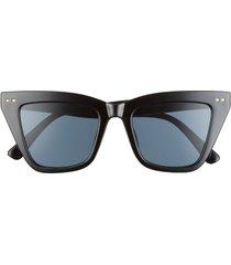 bp. 50mm cat eye sunglasses in black at nordstrom