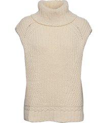 vanya knit vest vests knitted vests crème birgitte herskind