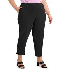 alfani plus size skinny pants, created for macy's