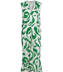 leaves illusion draping dress