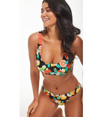 seville mindful underwire crop bikini top c-gg