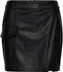 marie skirt kort kjol svart designers, remix
