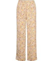 recycle polyester trousers wijde broek roze rosemunde