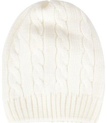 little bear ivory hat for babykid