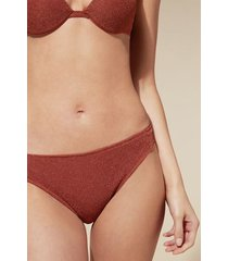 calzedonia federica bikini bottoms woman red size 4