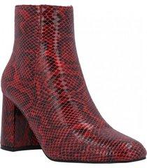 botín areta rojo azaleia