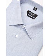 koszula corsini 2996 długi rękaw custom fit niebieski