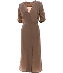 ballantyne ballantyne silk and cotton dress