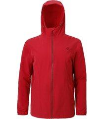 chaqueta hombre vento ptx hoodie rojo doite