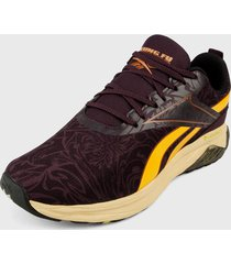 tenis running violeta-amarillo reebok liquifect 180 2