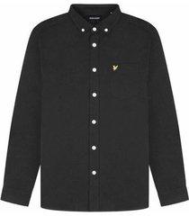 overhemd lange mouw lyle scott chemise