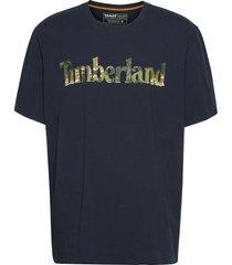 ss ft linear tee t-shirts short-sleeved blå timberland