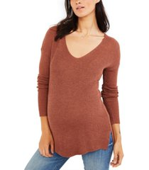 a pea in the pod maternity v-neck sweater