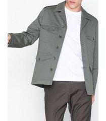 filippa k m. oliver cotton jacket jackor green