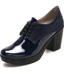 zapato para dama tellenzi 1600 azul