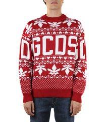 gcds pullover christmas in misto lana