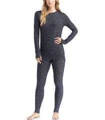 cuddl duds soft knit long-sleeve crewneck top