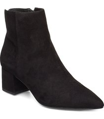 omarii shoes boots ankle boots ankle boots with heel svart dune london