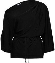 annalee top blouse lange mouwen zwart filippa k
