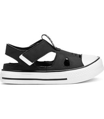 converse sandalias chuck taylor all star superplay black, white