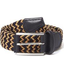 anderson belt's woven belt | navy/gold | b0667 ne41