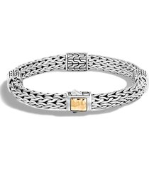 women's john hardy 'classic chain' station medium bracelet