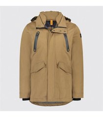bruin heren jas blue industry - obiw18-m50 - taupe